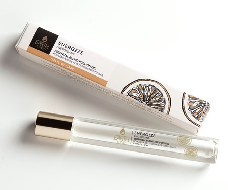 Earth Luxe Roll-On Essential Oil, Energize