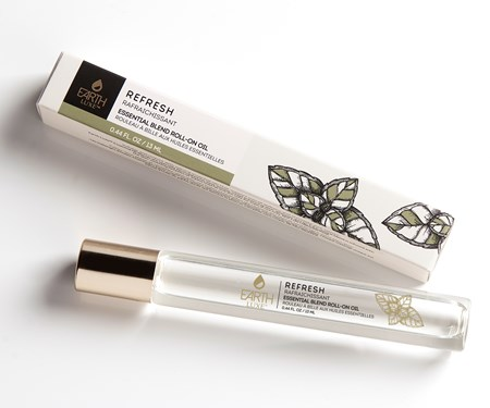 Earth Luxe Roll-On Essential Oil, Refresh
