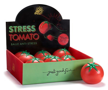 StretchStressReliefTomatowDisplayer