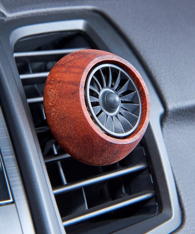 Earth Luxe Car Vent Diffuser Asst. & Displayer