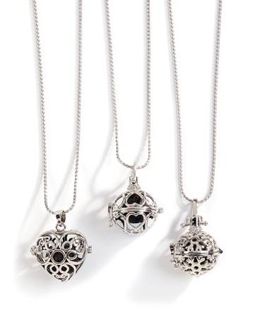 Aromatherapy Pendant Necklace, 3/Asst.