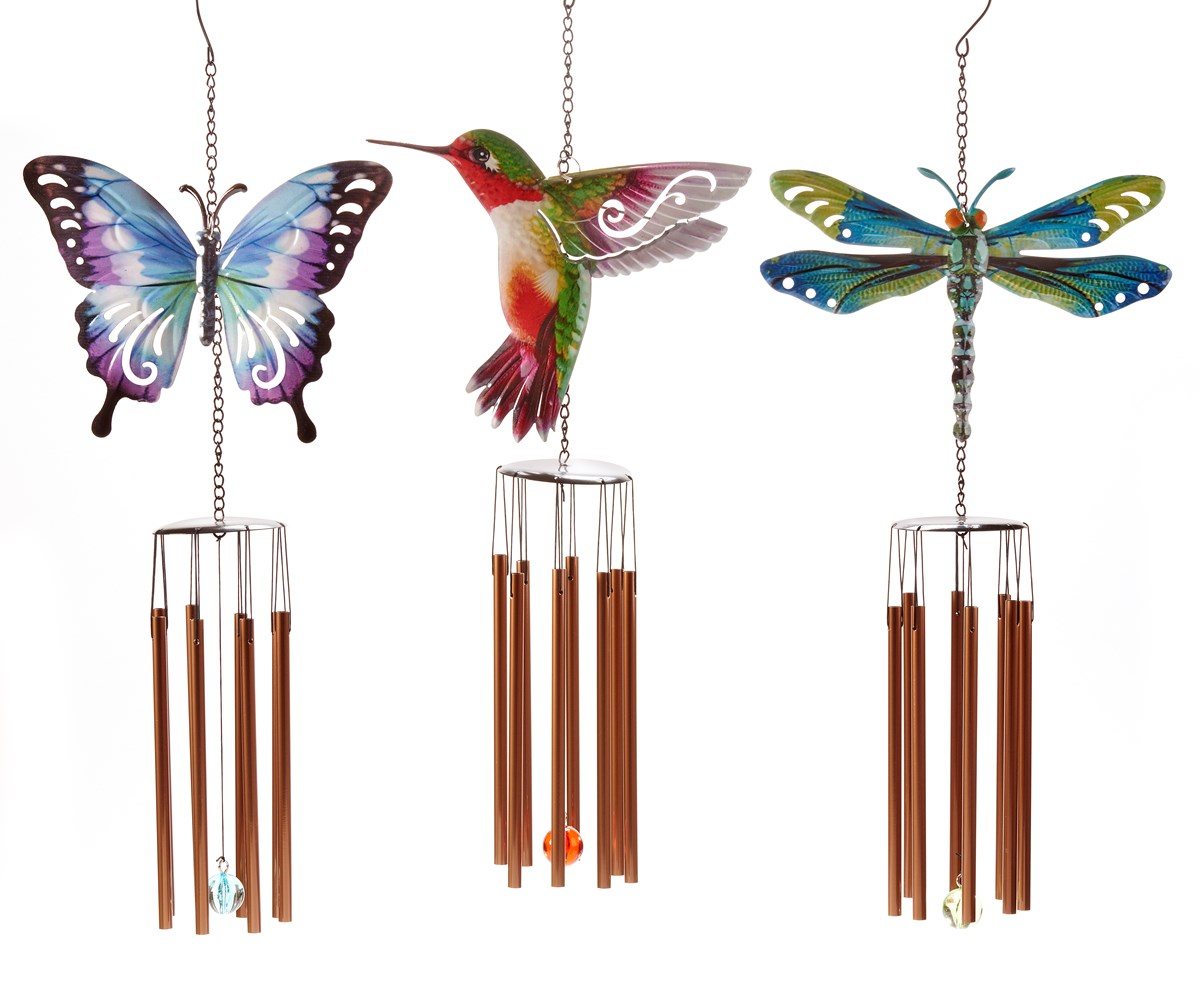 Nature's Conservatory Design Windchime, 6 Asst.