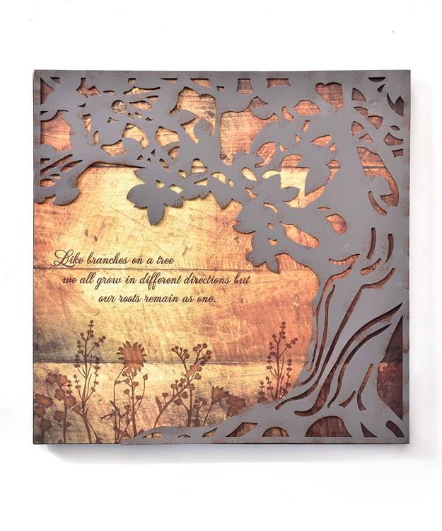 Memorial Tree Design Wall Plaque