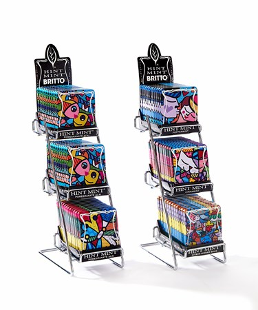 Romero Britto Hint Mint Artist Series Asst. w/ Displayer