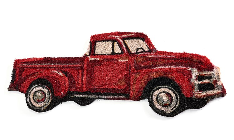 The Homestead Pickup Truck Design Floor Mat