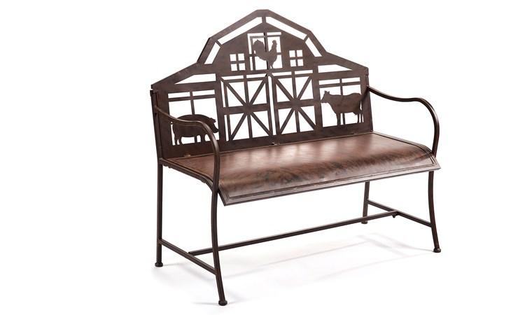 Barn Design Garden Bench