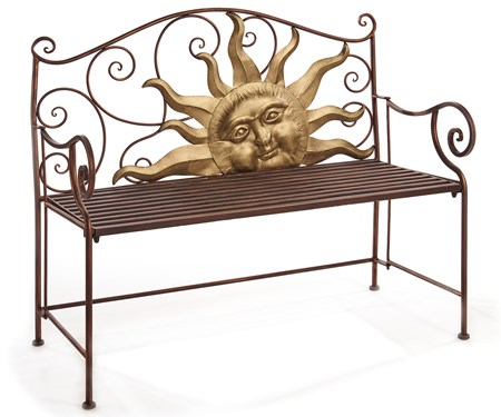 Rising Sun Design Garden Bench
