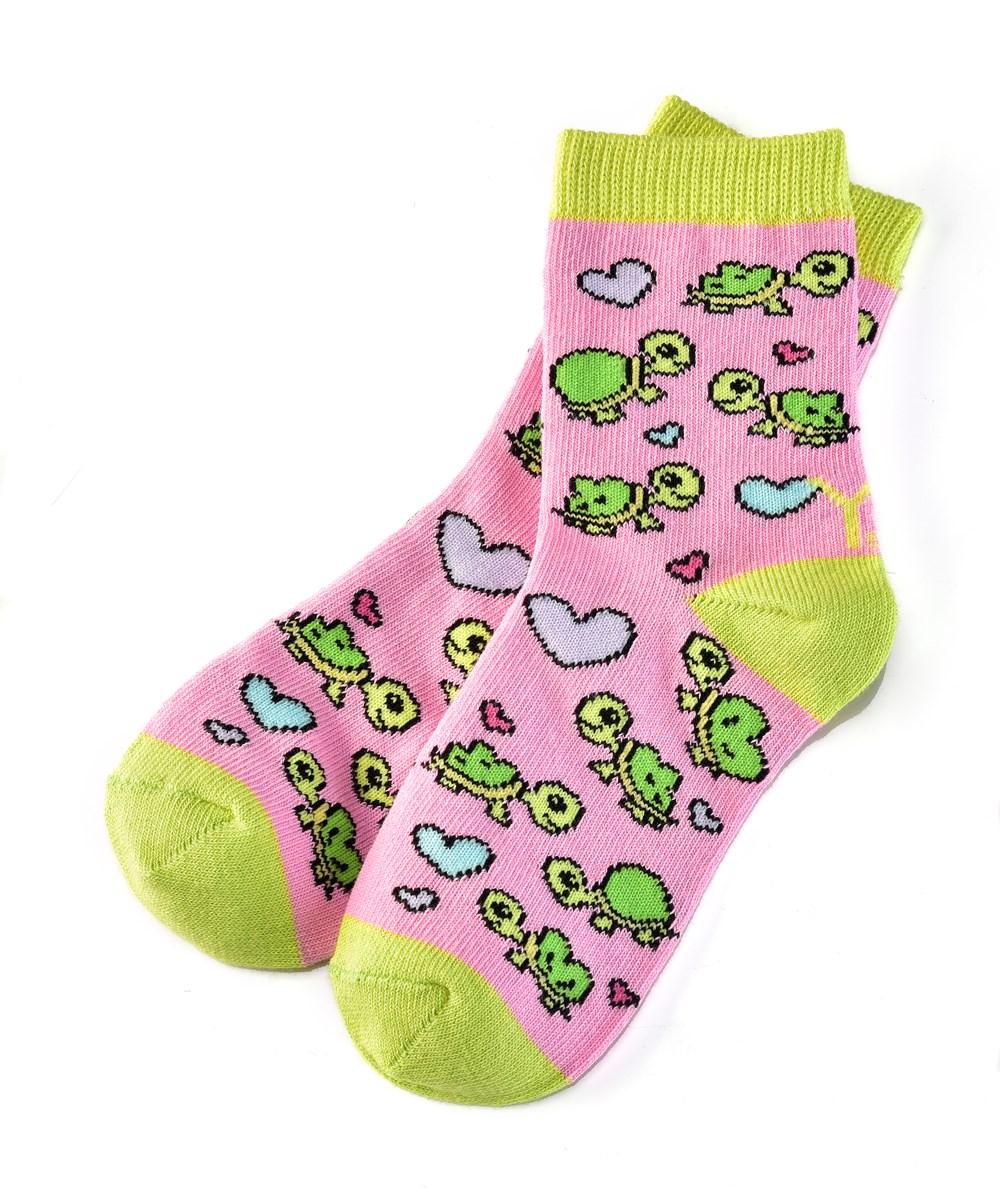 Socks (Girls / 3-6 Years), Turtle
