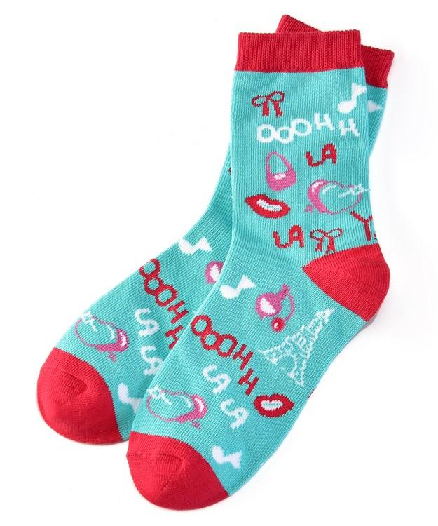 Socks (Girls / 7-10 Years), Ooohh La La