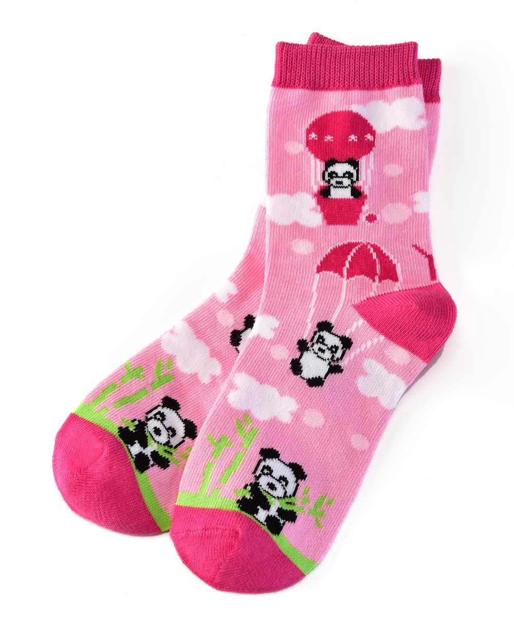 Socks (Girls / 7-10 Years), Panda Land