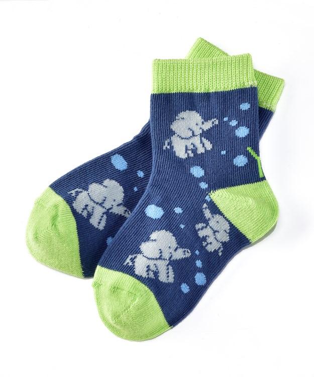 Socks (Boys / 1-2 Years), Elephant Fun