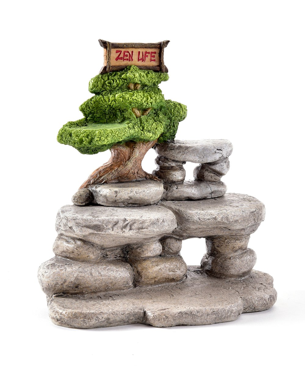 Mini Garden Buddha Animal Design Figurines, 48 Pieces w/Displayer