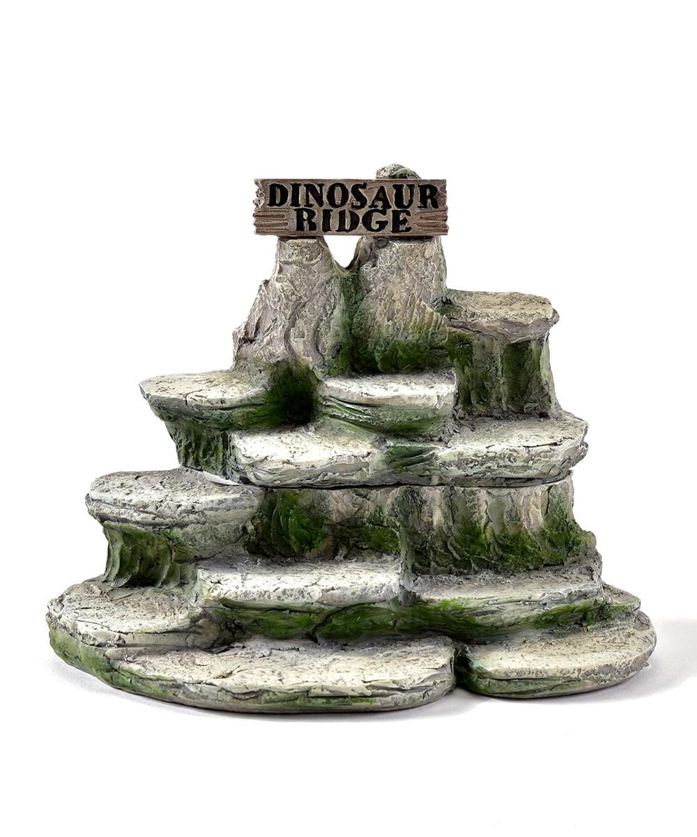 Mini Garden Dinosaur Design Figurines, 48 Pieces w/Displayer