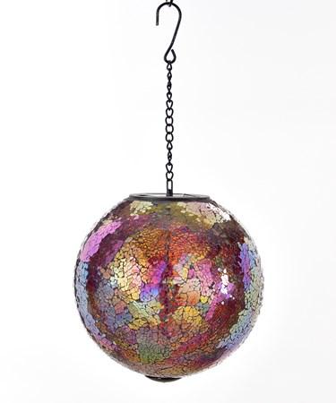 Solar Powered Hanging Globe