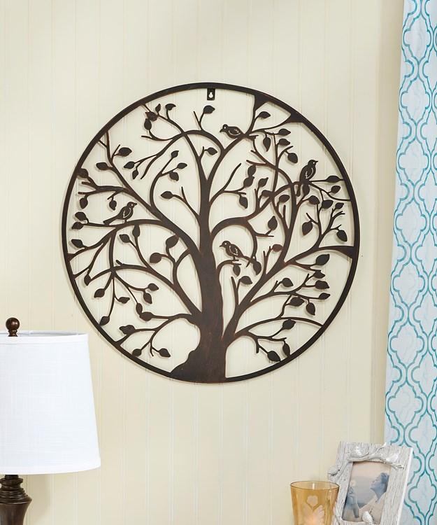 Metal Tree Design Wall Decor