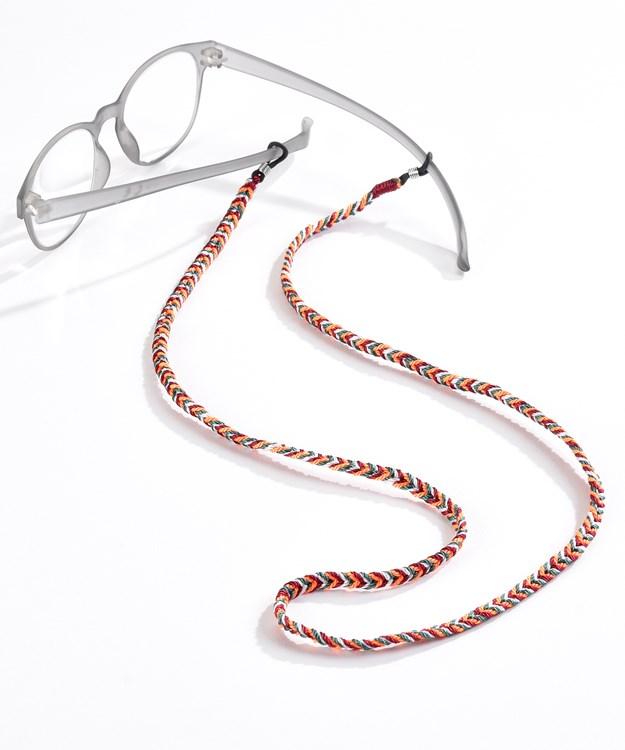 Chevron Eyeglasses Holder, 6 Asst. w/Displayer