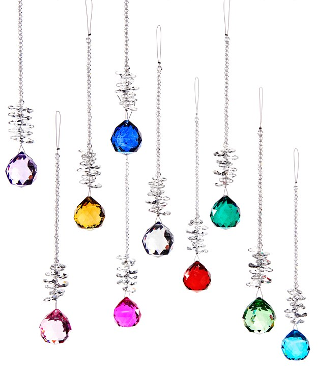 Prism Design Ornament, 50 Pieces w/Displayer