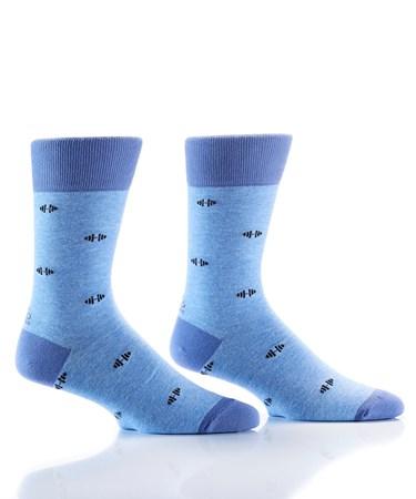 Men's Crew Sock, Gym Day