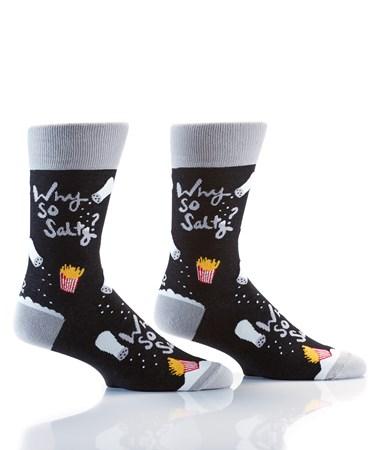 Men's Crew Sock, Why So Salty?