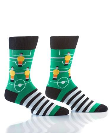 Men's Crew Sock, Foosballin'