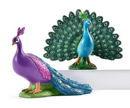 PeacockDesignFigurines2Asst