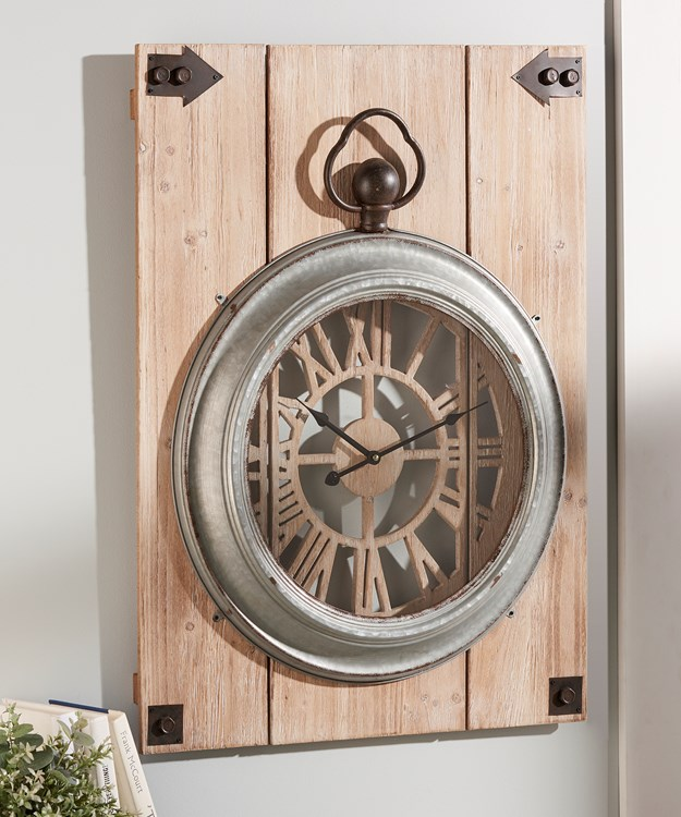 Pocket Watch Design Wall Clock