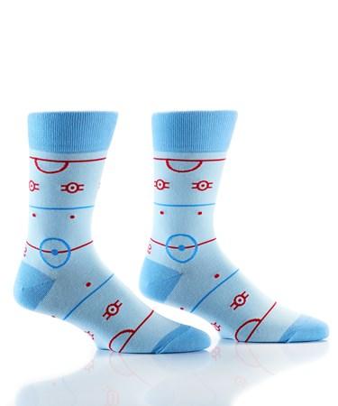 Men's Crew Sock, Ice Time