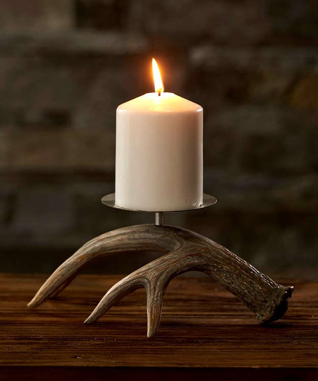Antler Design Candle Holder