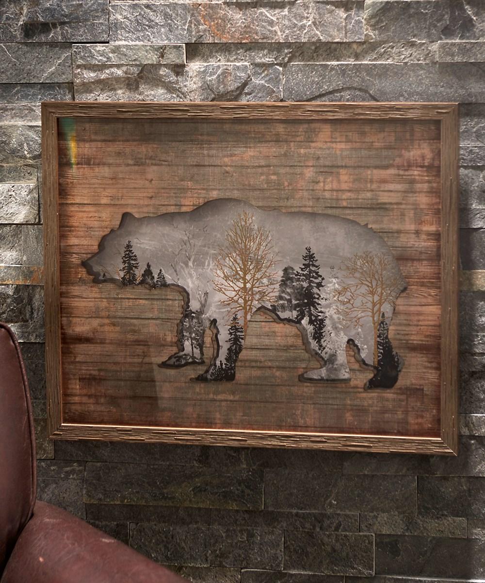 Bear Design Print