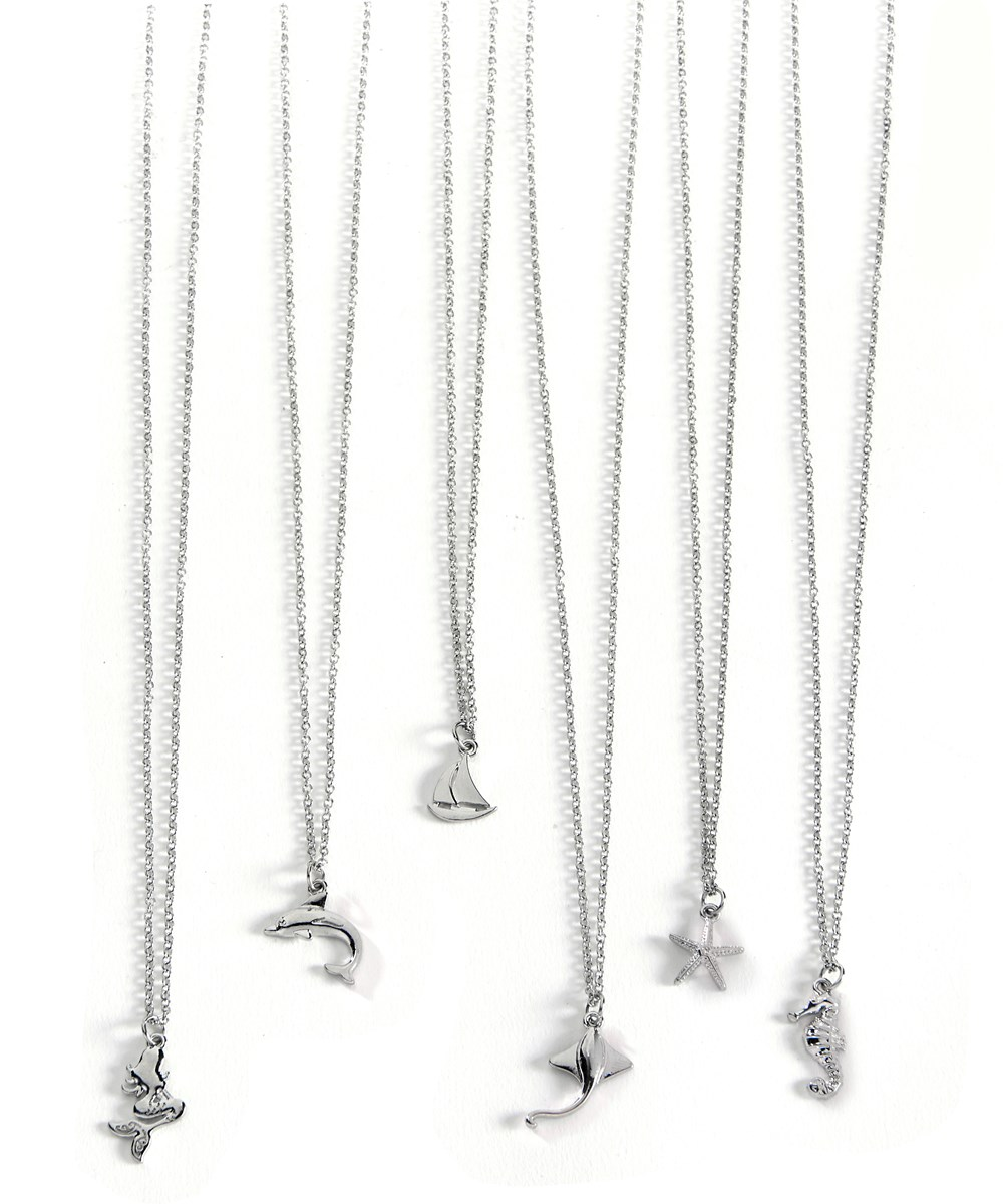 Carded Necklace w/ Displayer, 6 Asst.