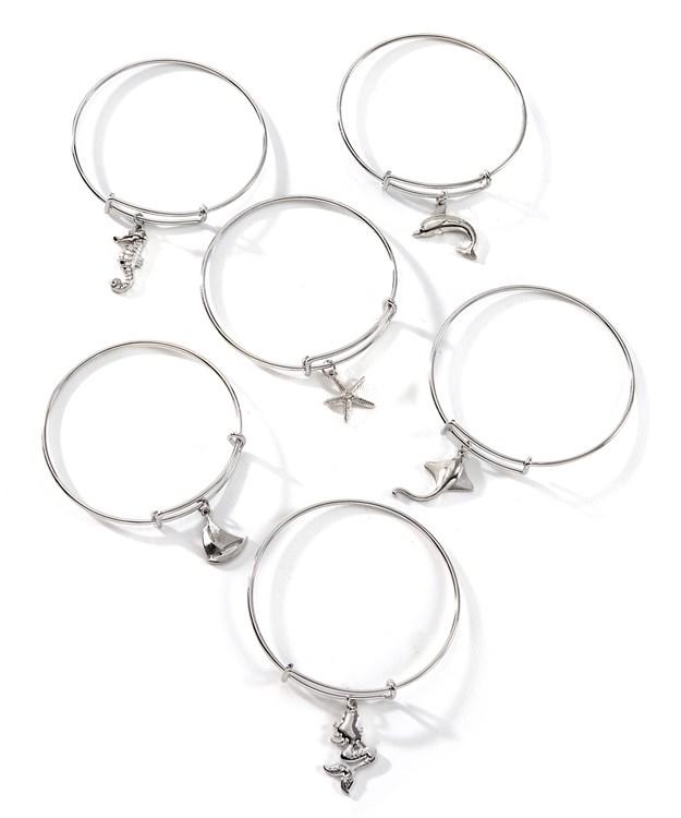 Carded Bracelet w/Displayer, 6 Asst.