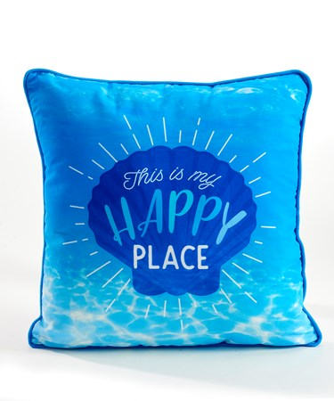 Deep Blue Sea Pillow