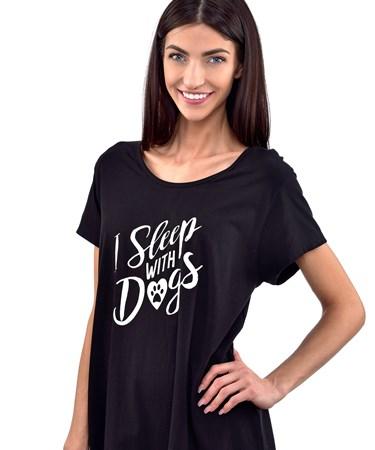 Furever Yours, Dog Design Sleep Shirt