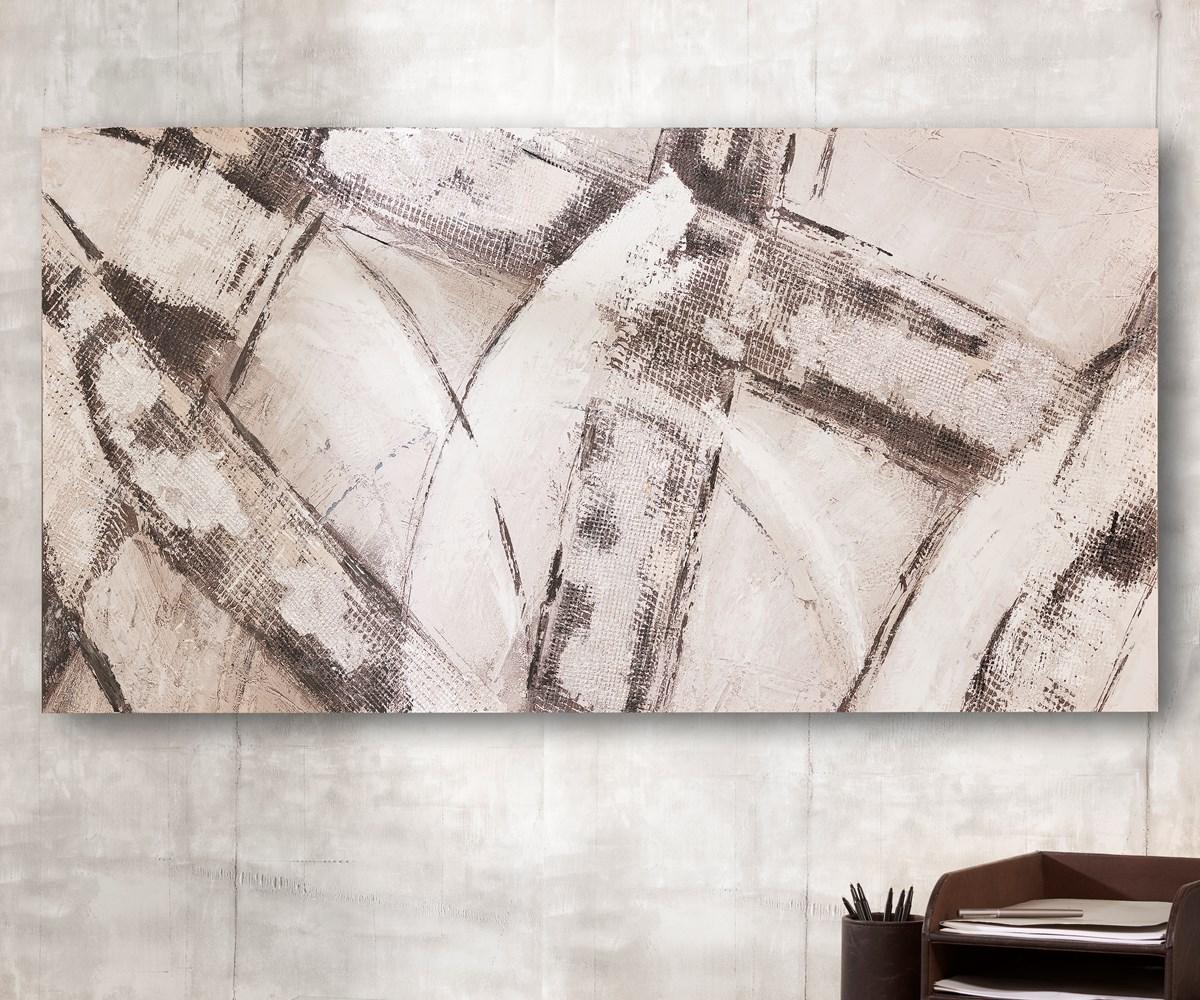 Canvas Oil Black and White Print