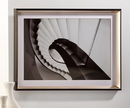 Inkjeting Staircase Painting with Frame