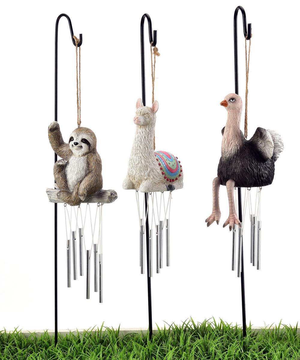 Animal Mini Chimes, 3 Asst.