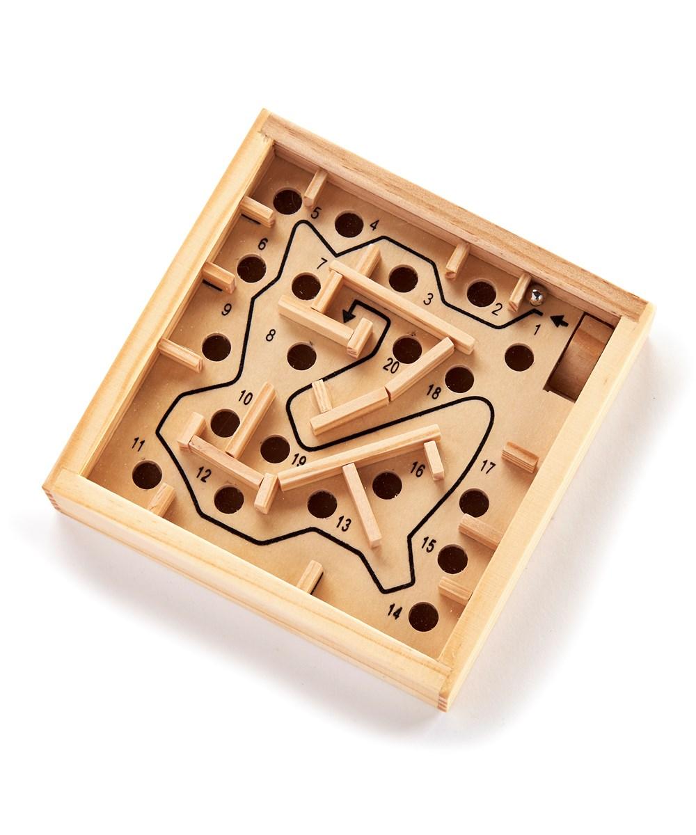 Mini Labyrinth Game, 18 pcs w/Dsp