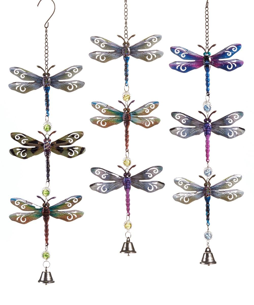 Dragonflies Bell Mobiles, 3 Asst.