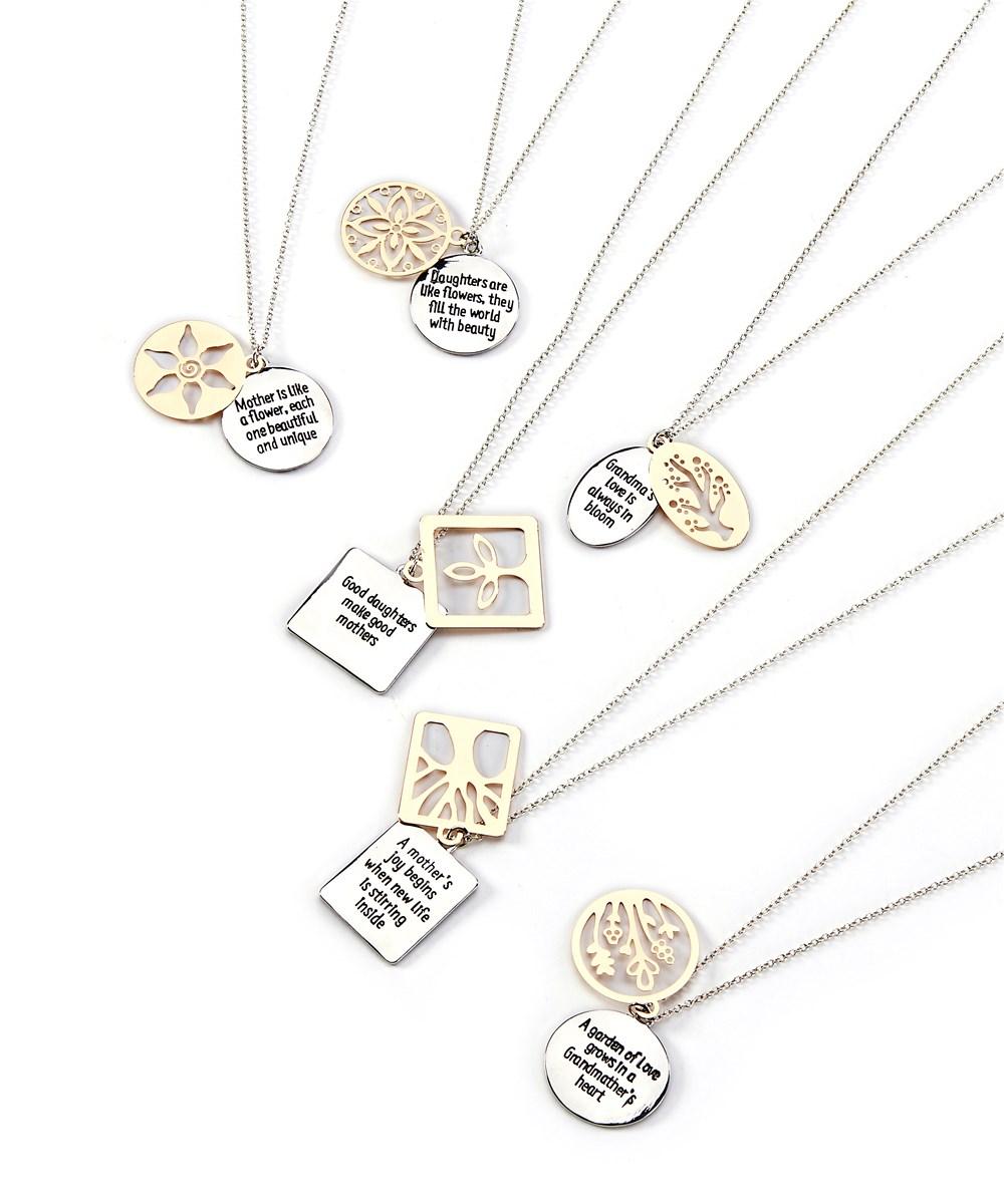 Sentimental Necklace, 6 Asst. w/Displayer