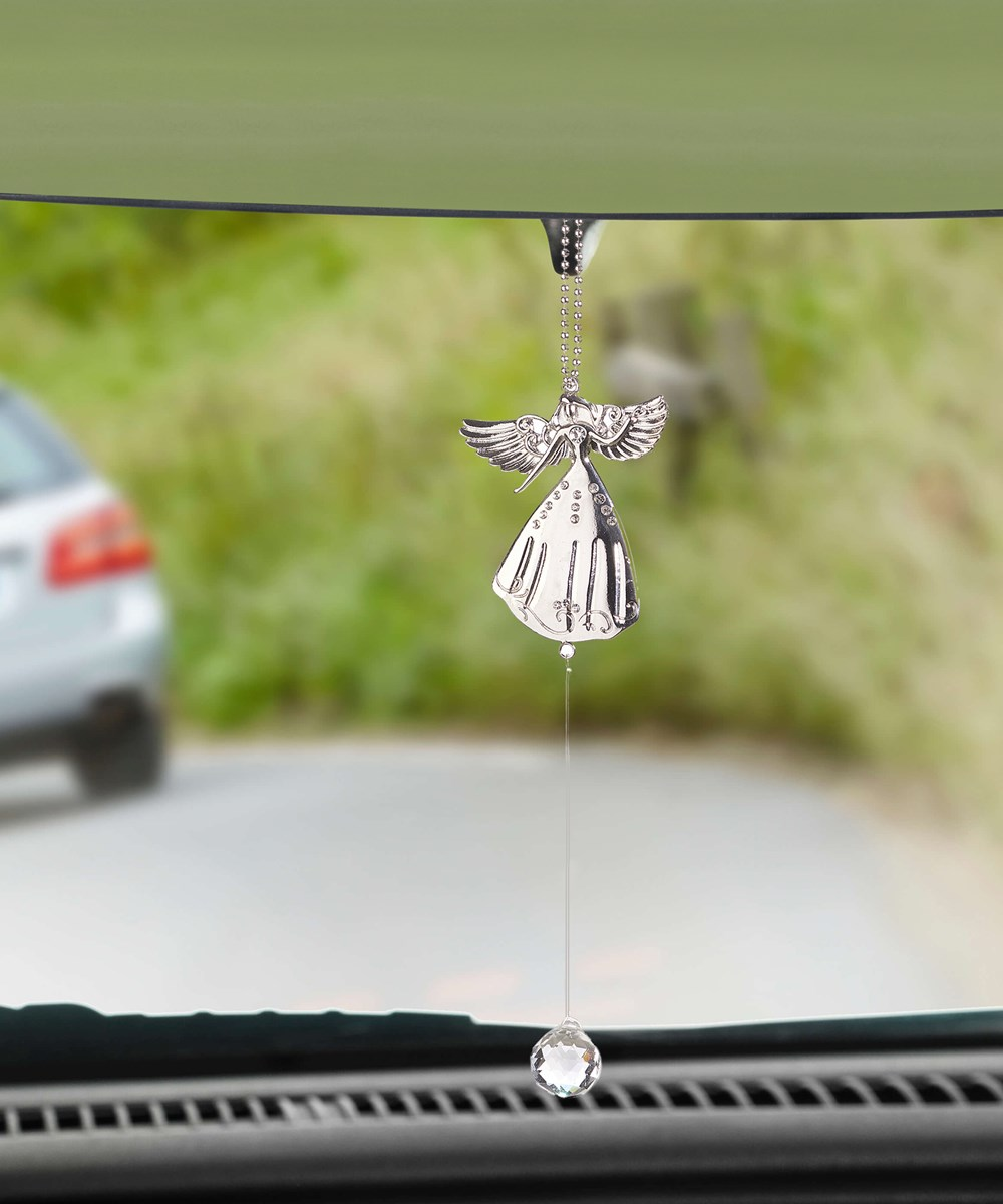 Angel Design Car Charm, 36 Pieces w/Displayer