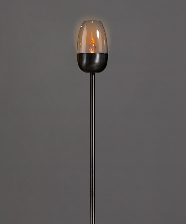 Solar Flame Candle Light w/Gift Box