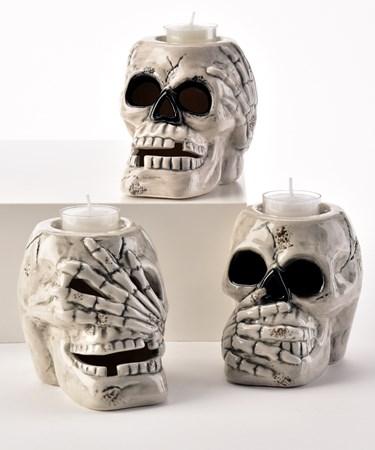 SkullCandleHolders3Asst