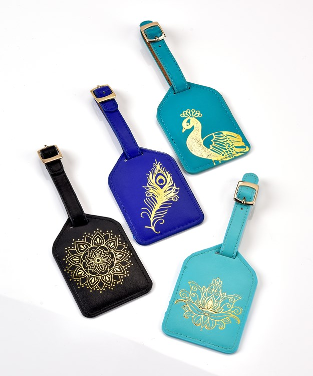 Avenue 9 Peacock Boutique, Luggage Tags, 32 Pieces w/Displayer