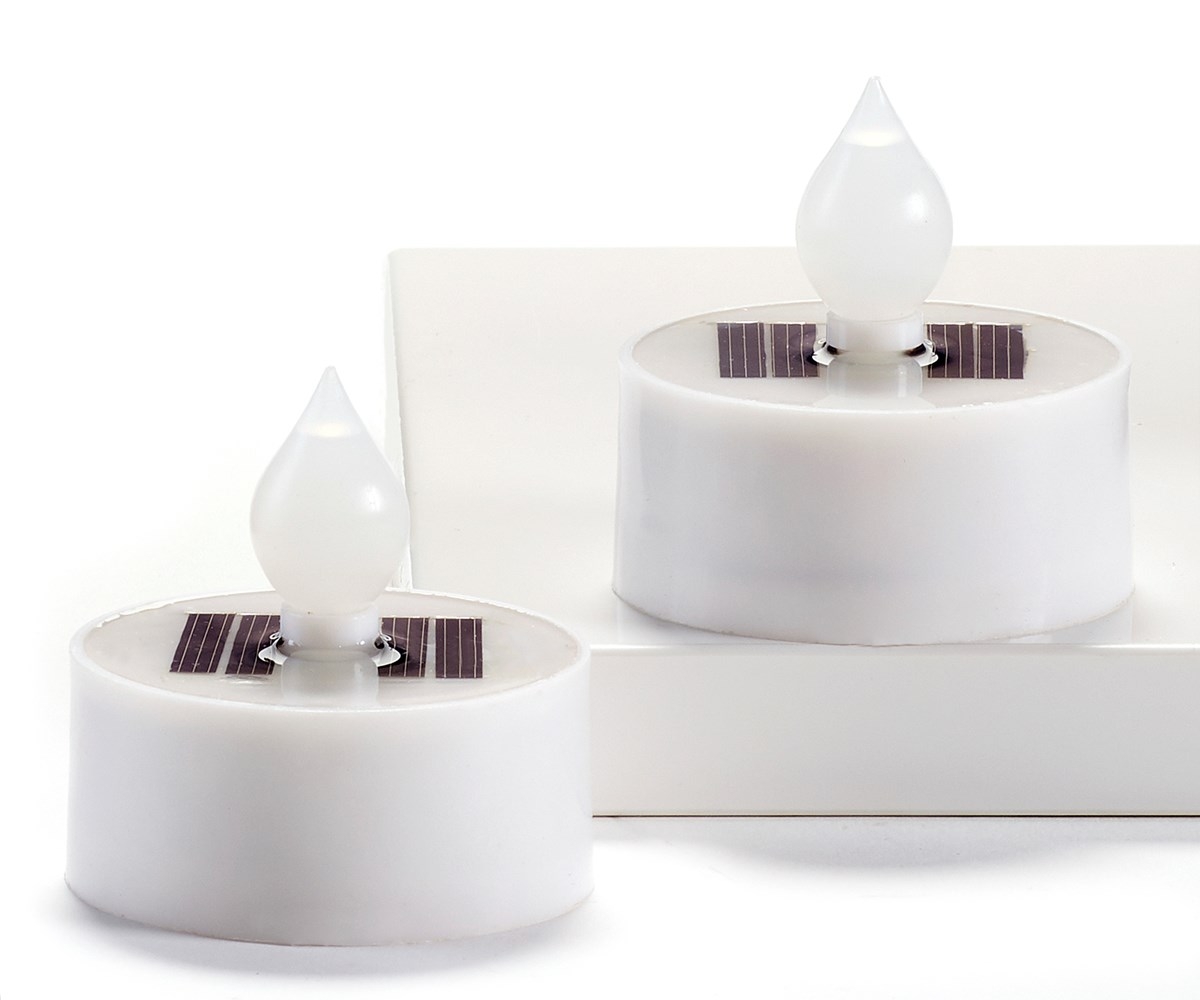Solar Candle w/Displayer
