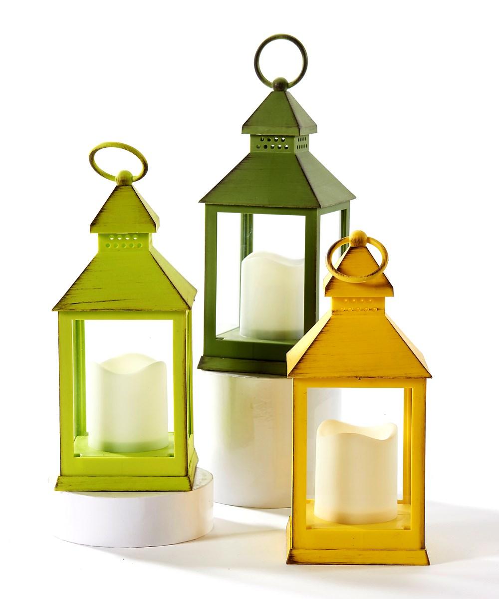 LED Lantern, 3 Asst.