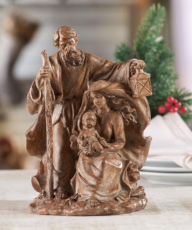 Holy Family Design Figurine