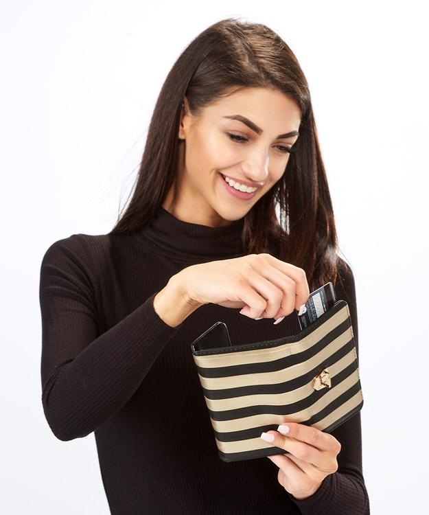 Avenue 9 Wish, Striped Wallet