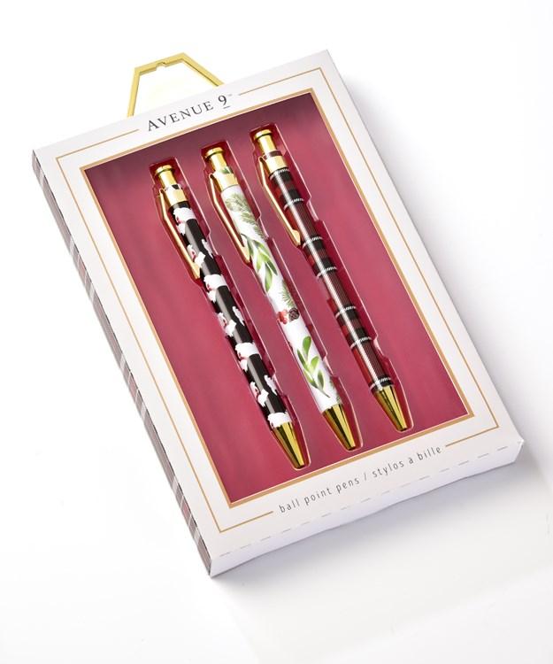 Avenue 9 Stay Cozy, Gift Pen Set/3