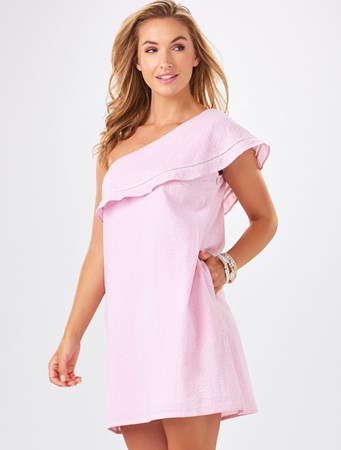 Charlie Paige, Ellie One-Shoulder Dress