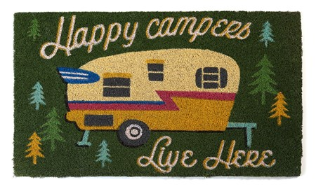 HappyCampersDoorMat